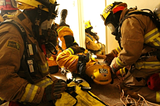 Effective mayday training could make the difference between life and death for the members of your department. Photo courtesy of flickr user Marines.