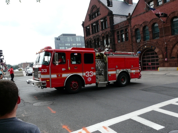 Two members of Boston's Engine 33 were killed in a fast-moving fire March 26. Photo courtesy Wikipedia Commons.