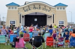 Excursion Park filled up early as crowds formed to wait for the performance of the BStreetBand, a Bruce Springsteen Cover Band on July 18, 2015 in Sea Isle City.