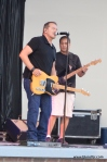 The BStreetBand, a Bruce Springsteen tribute band, performs at Excursion Park on July 18, 2015 in Sea Isle City.