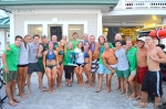 Sea Isle City Beach Patrol celebrates after their team victory at the Tri-Resort Lifeguard Races on July 13, 2015 in Sea Isle City.